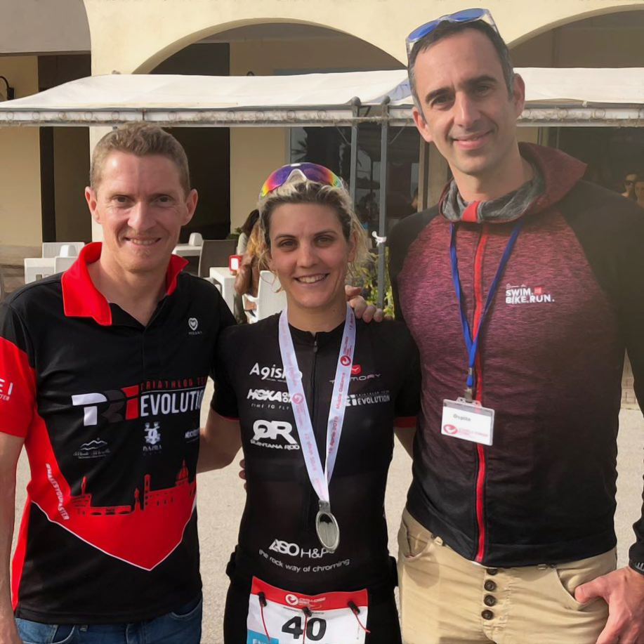 Marta Bernardi   Allenamento triathlon   Rulli bici