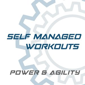 Self Managed Workouts | Power and Agility | Power and Agility self managed workouts | self managed trainings | magneticdays