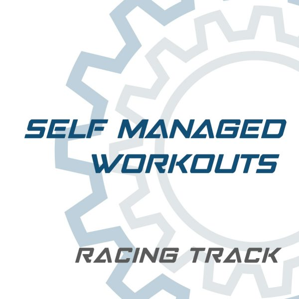 Racing Track Self Managed Workouts | self managed workouts | MagneticDays self managed workouts | racing track | MagneticDays