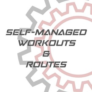 Self Managed Workouts and Routes