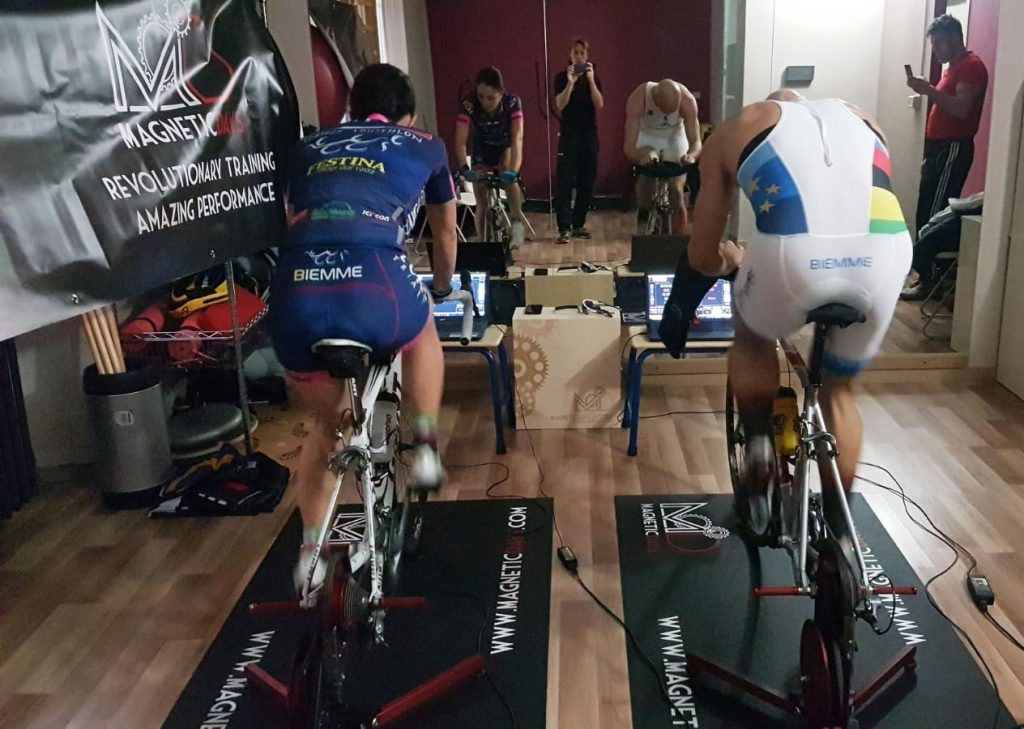 Andrea Gabba | Allenamento Indoor | MagneticDays | rulli per bici