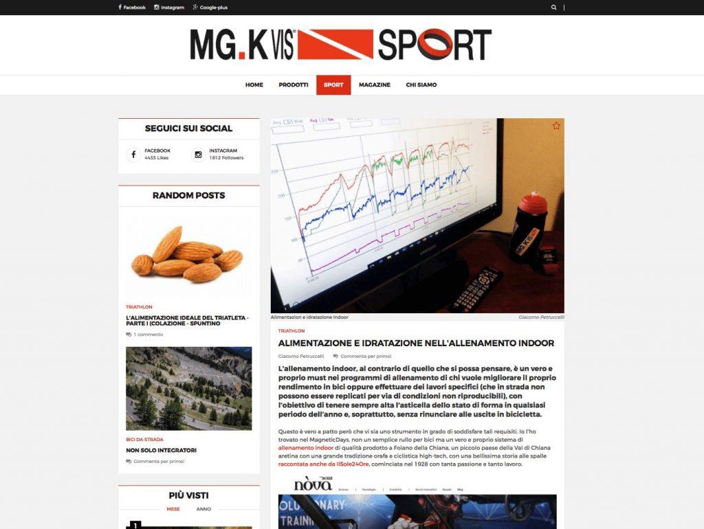 MGK Vis Sport | MagneticDays