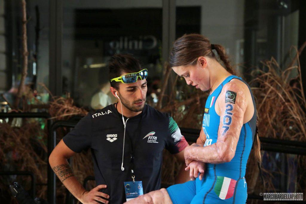 Paratriathlon | Fitri | Veronica Yoko Plebani | Marco Bardella | ITU | Triathlon | Arena