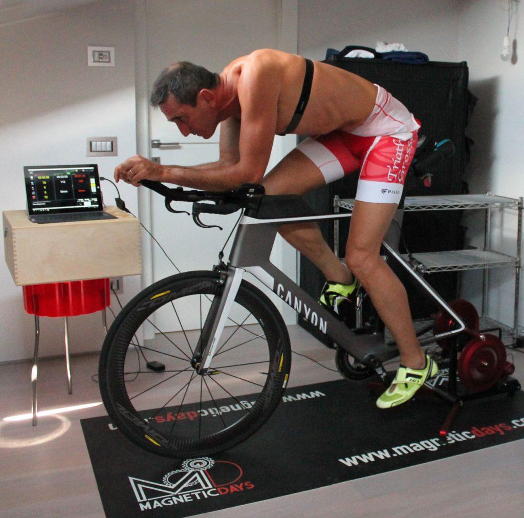 riccardo casini | allenamento triathlon | allenamento sui rulli
