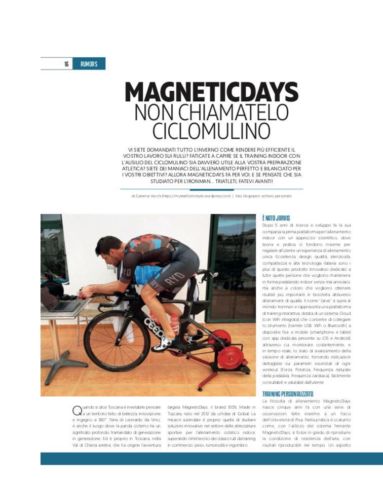 4Running | 4Running#032018 | 4ActionSport | MagneticDays | triathlon training | smart trainer