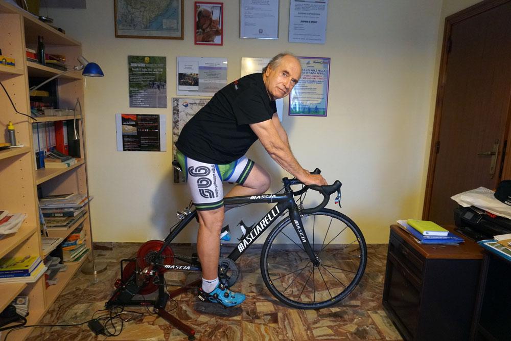 Tommaso Paolini | allenamento rulli