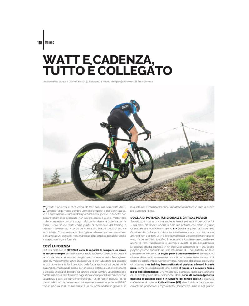 4Bicycle Magazine | 4ActionSport | MagneticDays | Watt e Cadenza | indoor training