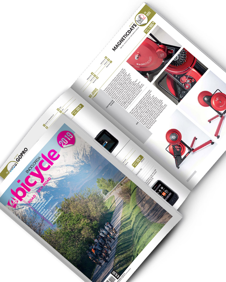 4Bicycle | 4Bicycle Enciclopedia 2019 | MagneticDays | Hi-Tech section | Road e Off-Road