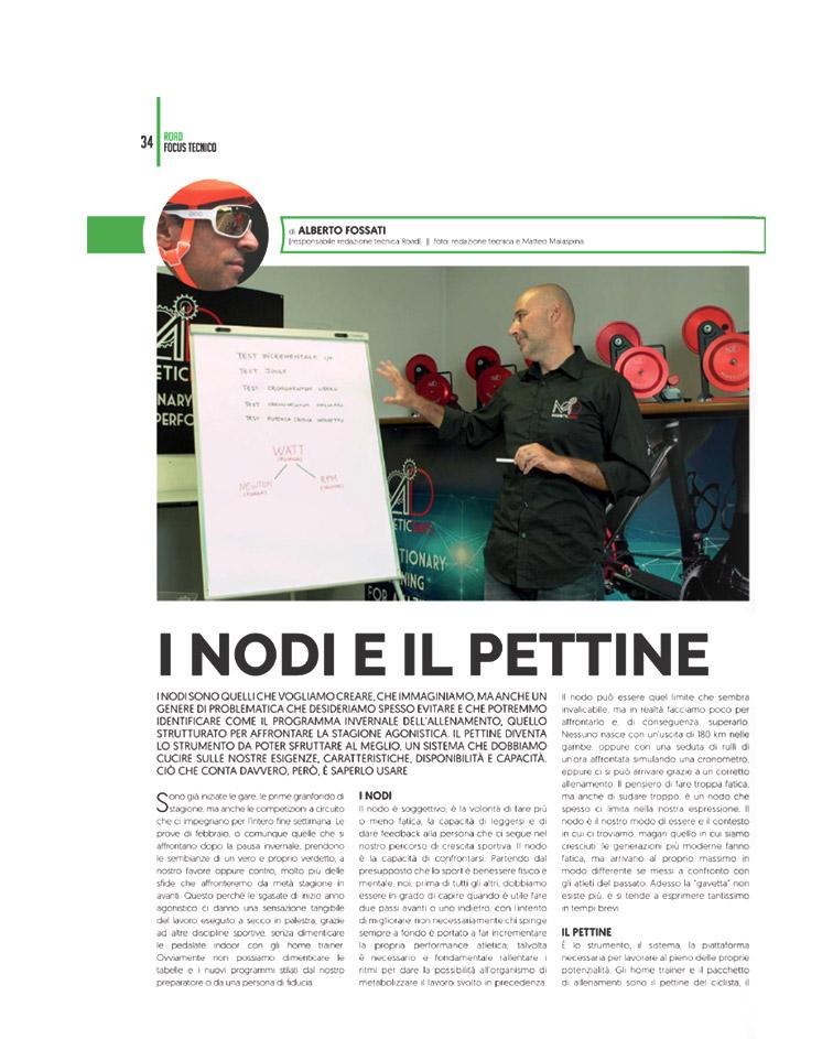 4Bicycle | 4Bicycle Digital Magazine | 4ActionSport | I nodi e il pettine | i nodi e il pettine dell'allenamento | magneticdays press