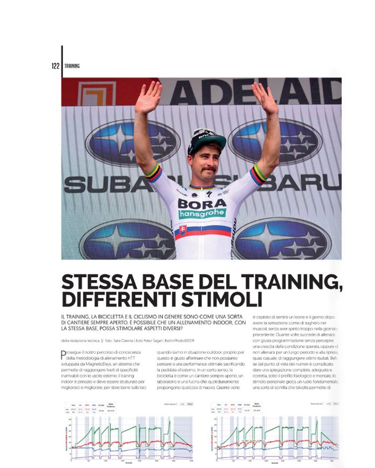 4Bicycle | 4Bicycle Magazine | stimoli training indoor | ciclismo indoor | allenamento indoor | MagneticDays