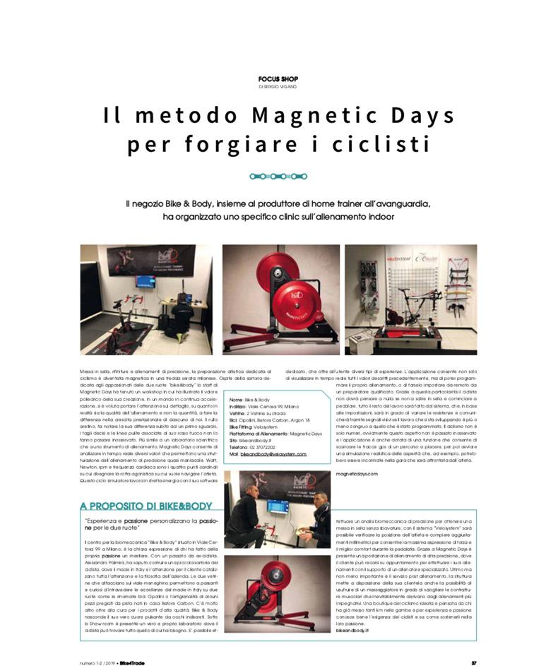 Bike4Trade | metodo MagneticDays | home training