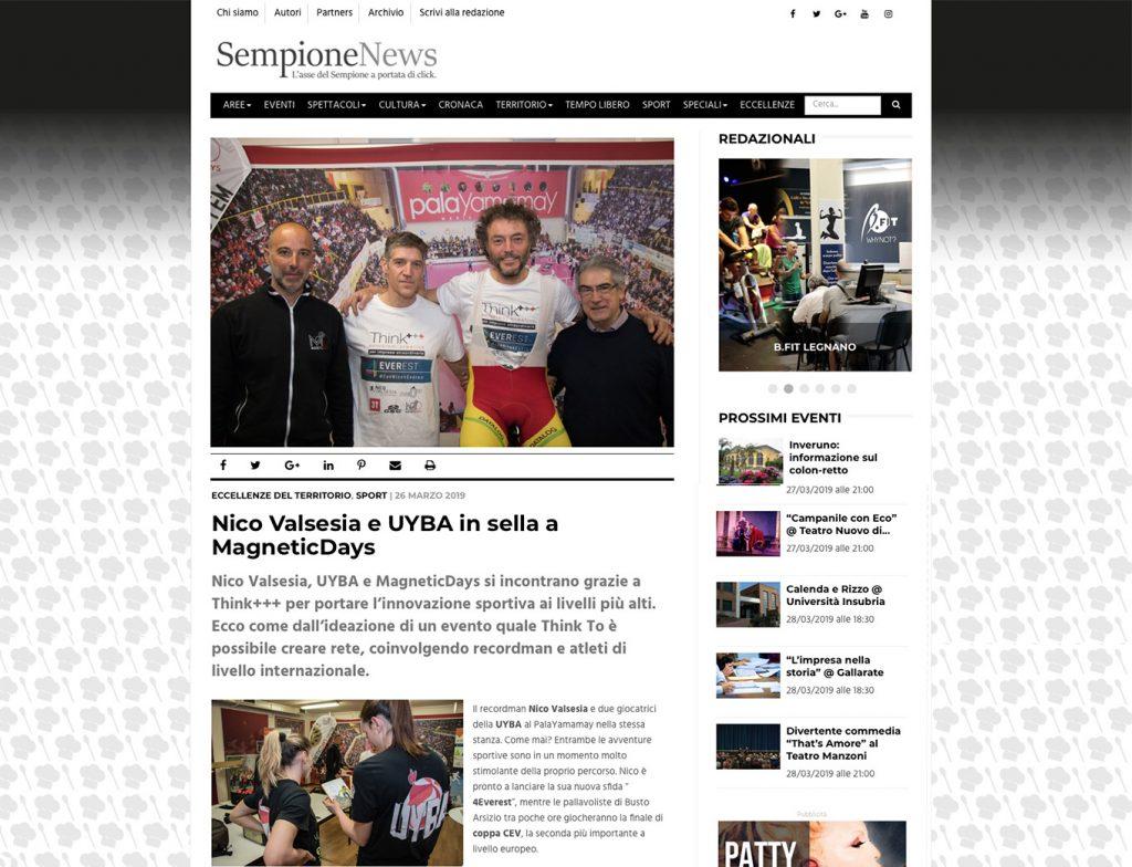 UYBA Volley | Nico Valsesia | From Zero To | MagneticDays al PalaYamamay