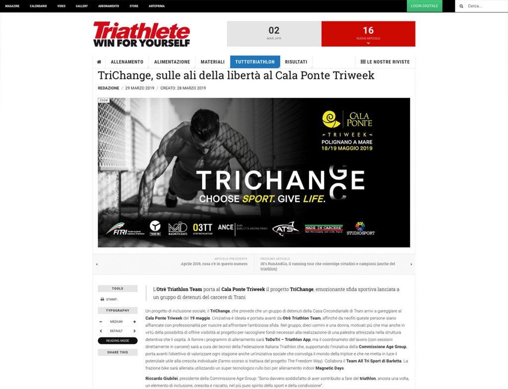 TriChange | Cala Ponte Triweek 2019