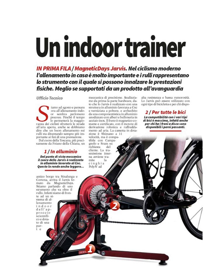 Bicisport | Un indoro trainer ad alta tecnologia | MagneticDays