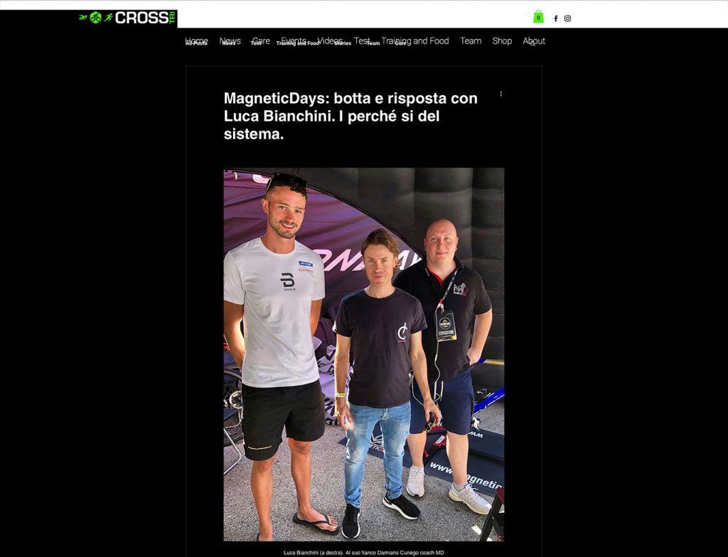Nazionale triathlon | magneticdays system