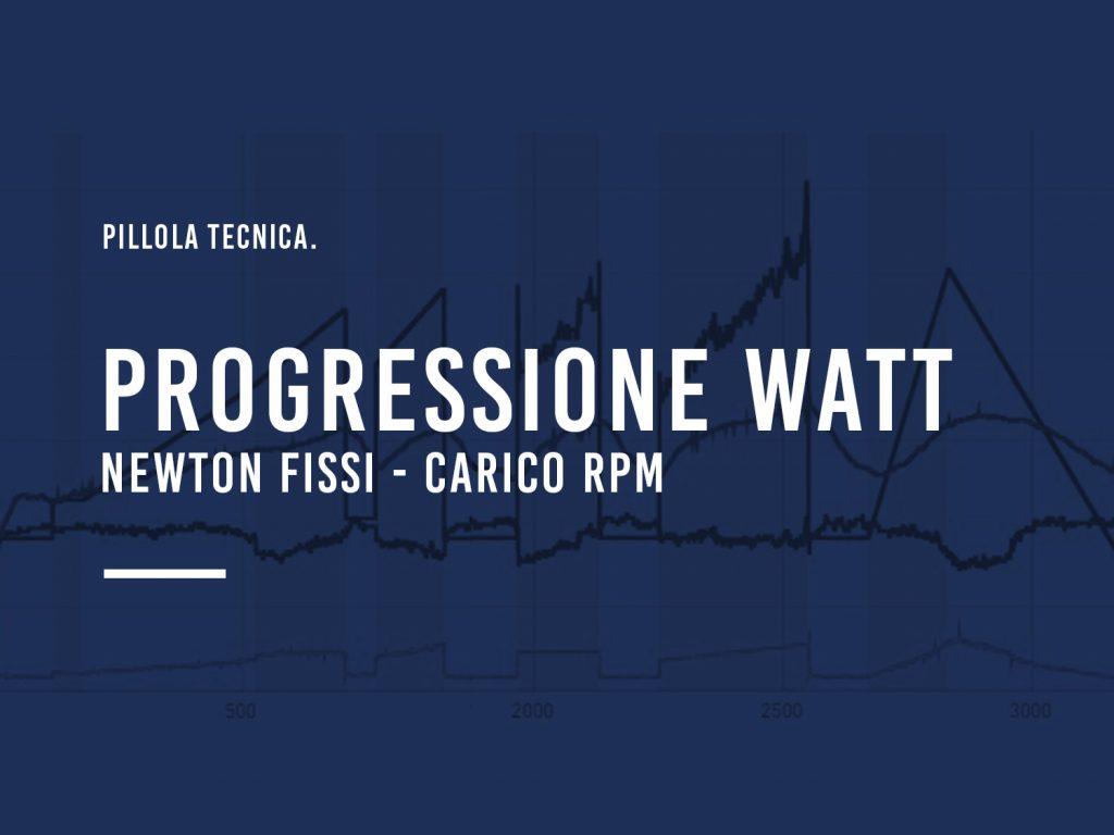 Progressione Watt 2