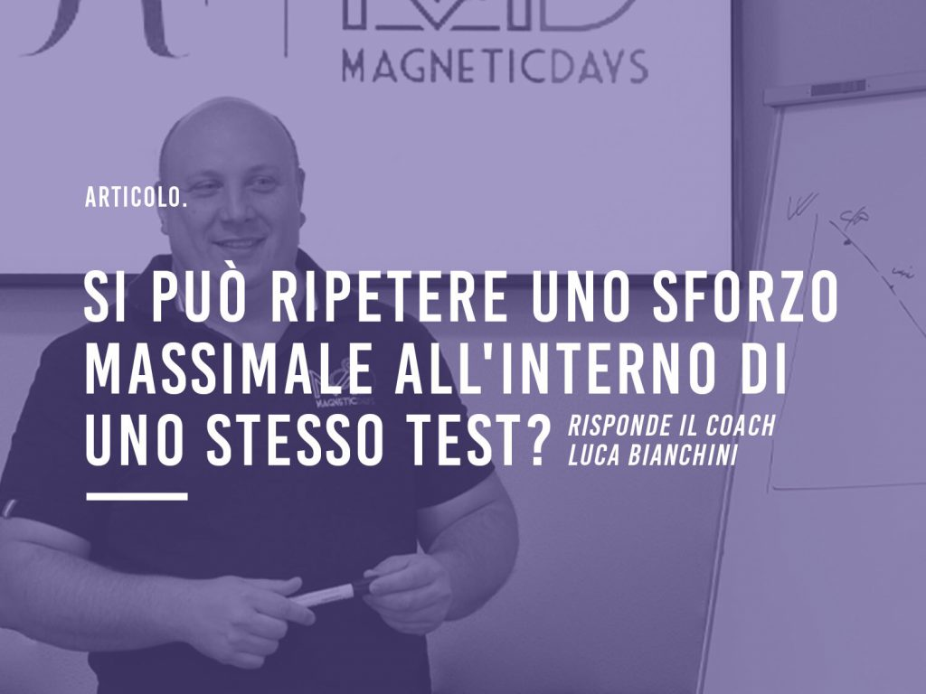 Sforzo Massimale | Test Incrementale 5