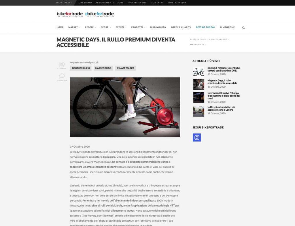 bikefortrade | rullo premium | magneticdays