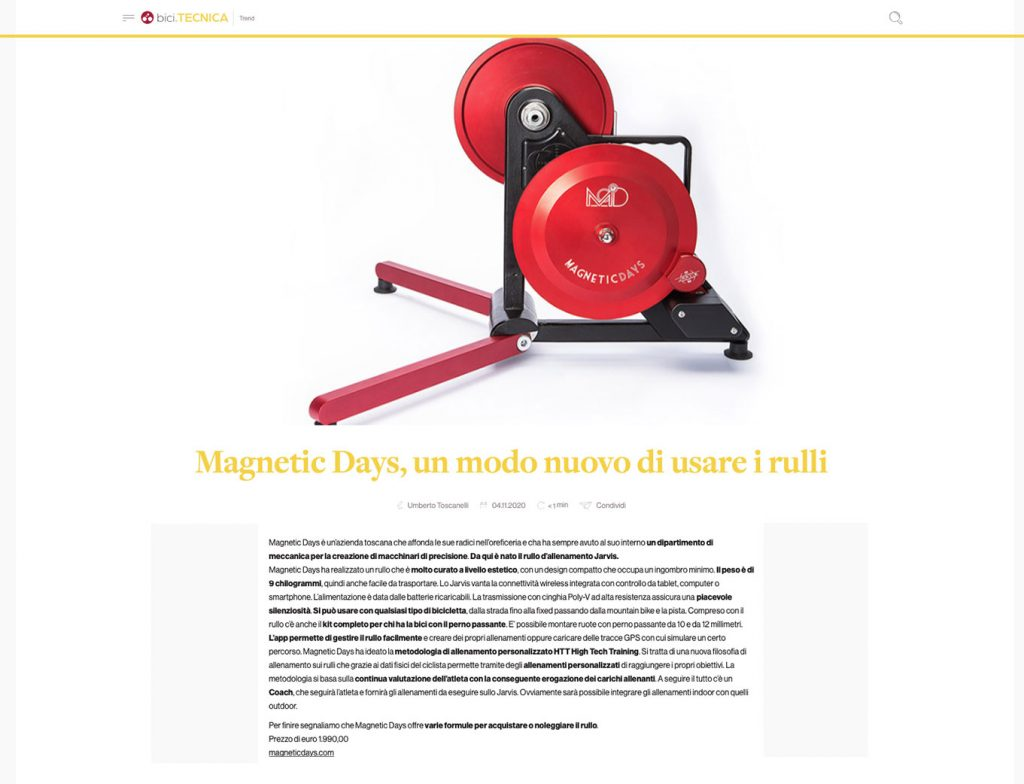 BiciPRO | MagneticDays press