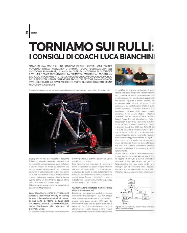 rulli | coach luca bianchini | MagneticDays press