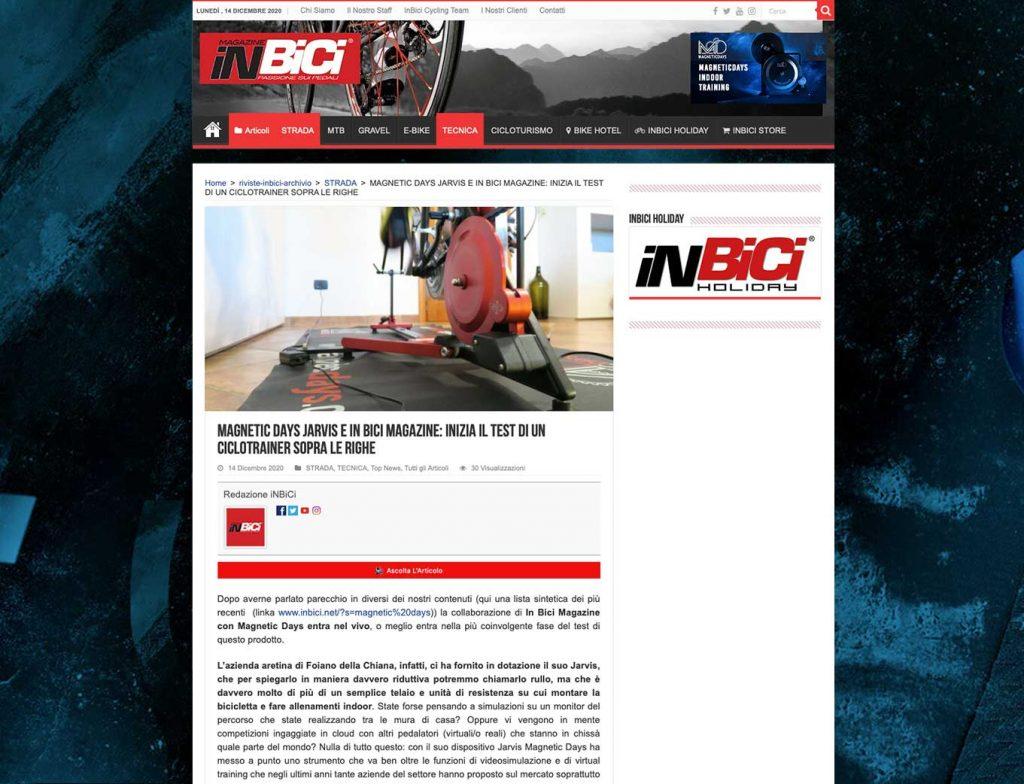 ciclotrainer | inbici magazine | magneticdays
