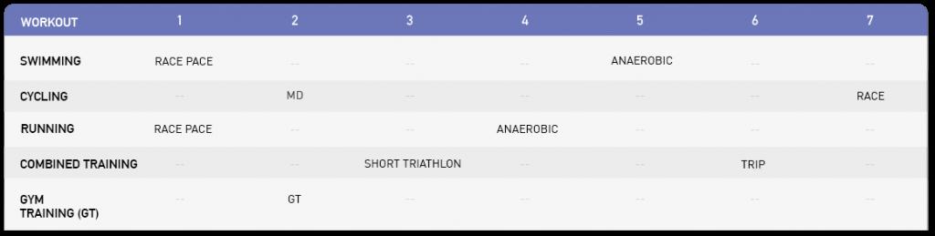 Training Schedule Ironman | Ironman Triathlon 3
