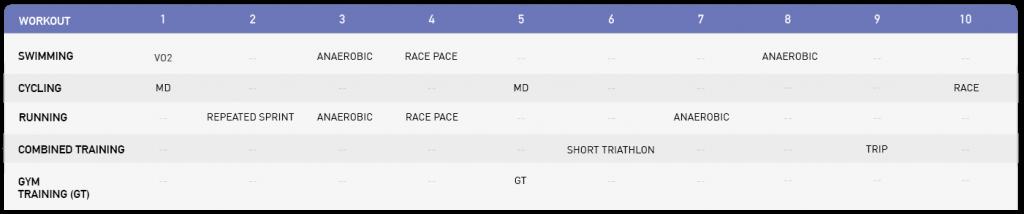 Training Schedule Ironman | Ironman Triathlon 5