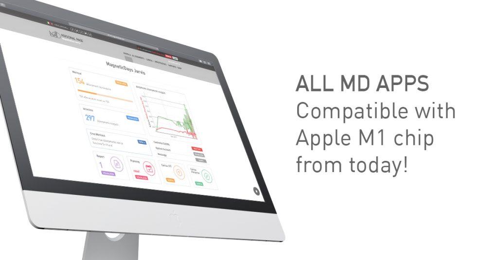MagneticDays WiFi App | Apple M1 chip