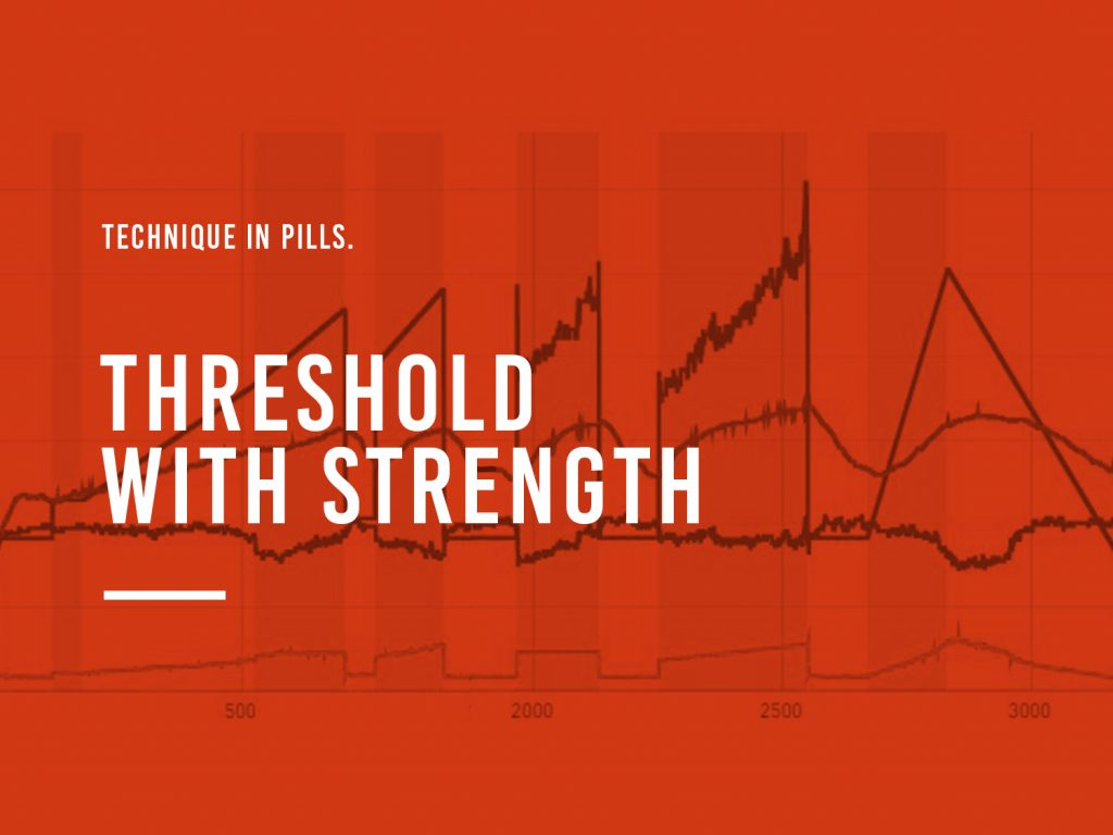 Threshold With Strenght Cover